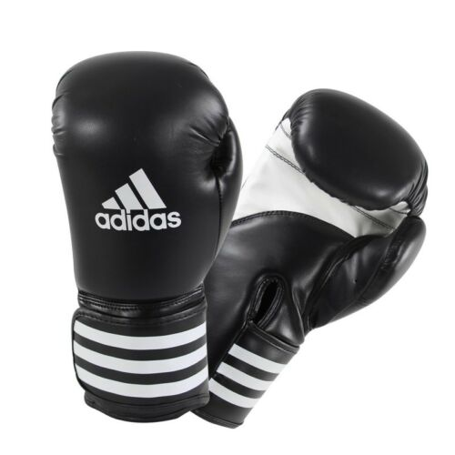 ADIDAS KPOWER ADVANCED KICKBOXING MUAY THAI MMA PUNCHING GLOVES BLACK NEW