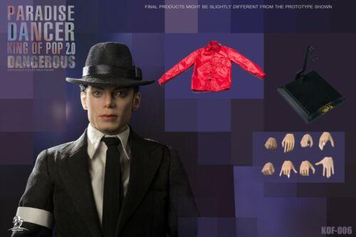Details about  /King of Figure KOF-06 1//6 Paradise Dancer 2.0 DANGEROUS Michael Jackson Figure