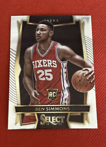 2016-17-Select-Ben-Simmons-Rc-Rookie-Base-Non-Refractor-76ers-Psa-Bgs-Ready