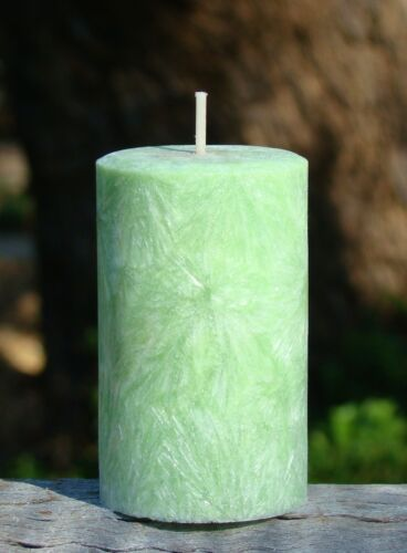 Huge KIWI FRUIT /& WATERMELON Triple Scented Natural Pillar Candle 200hr GIFTS