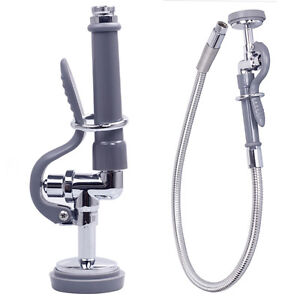 Commercial-Kitchen-Sink-Spray-With-3-Foot-Flexible-stainless-steel ...