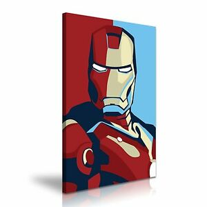 office deco. Image Is Loading Pop-Art-Iron-Man-Canvas-Wall-Art-Home- Office Deco