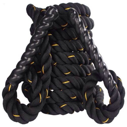 15m 50mm Battle Rope Training Battling Power Rope Fitness Exercise Gym Bootcamp