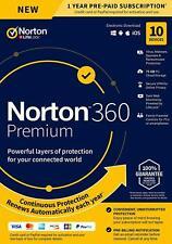 Norton 360 Premium 2020 10 Devices 10 PC 1Year Secure VPN Internet Security EU
