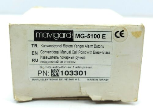 Details about  /Mavigard MG-5100//M Manual Call Point With Break-Blass PN 103301