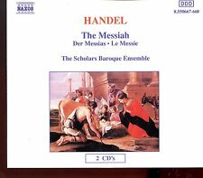 Naxos - Handel - The Messiah Der Messias Scholars Baroque Ensemble - 2CD Fat Box