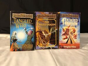 Details about Set Of 3 D&D Forgotten Realms Books, Used