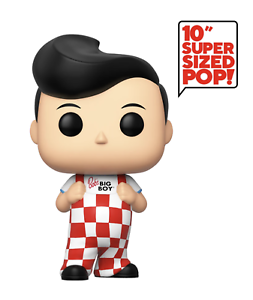 //// Ad Icons //// #92 BIG BOY //// Exclusive 10 Inch //// Mint //// In Hand ! Funko Pop