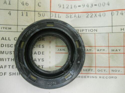 Honda NOS ATC110 1979-81 # 91216-943-004   d1 Oil Seal 22x40x7