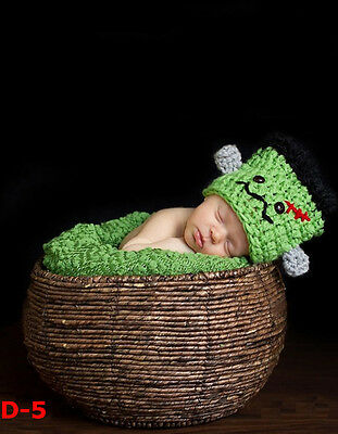 Newborn baby infant photography prop handmade woven basket stage equipment