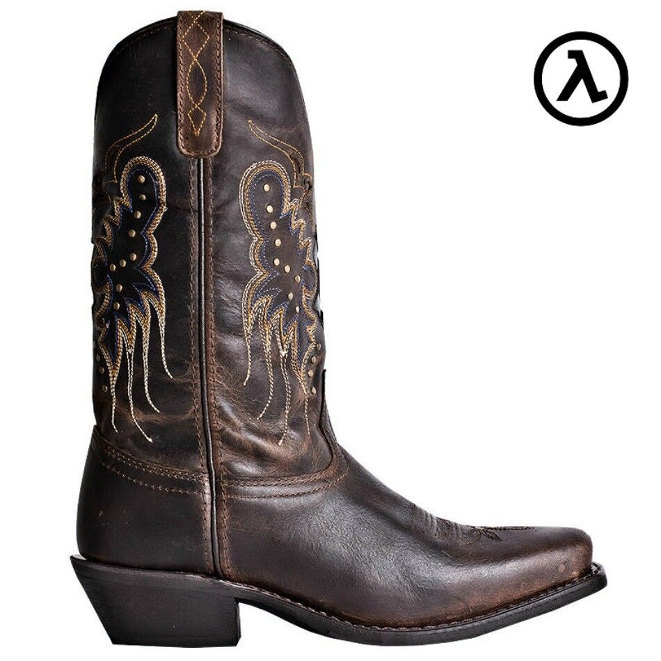 LAREDO CORA 11  BRANDY STUDDED WOMEN'S LEATHER WESTERN BOOTS 52034  ALL SIZES