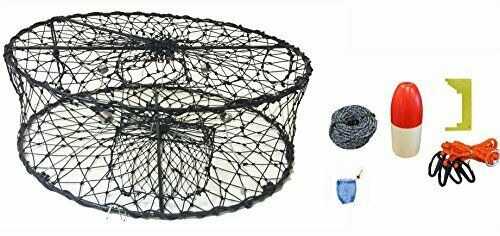 KUFA CT50 Sports Foldable Crab Trap with Accessories combo (CT50+CAS1)   sale with high discount