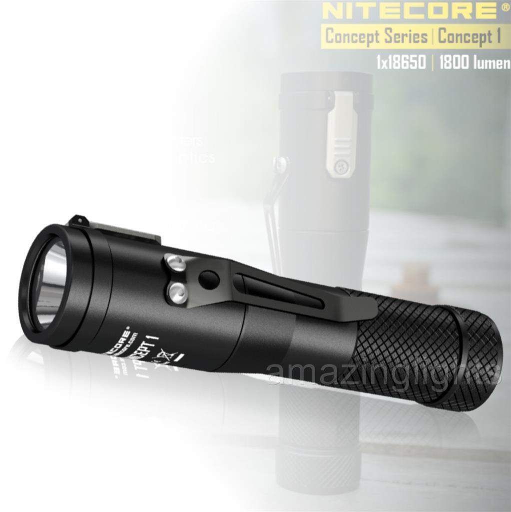 NITECORE Concept 1 C1 1800 Luuomini LED Compact EDC Flashlight  Everyday autory