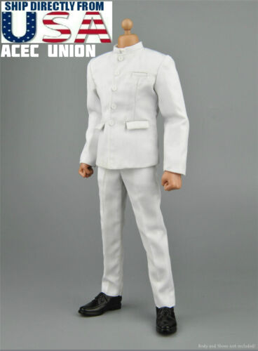1//6 Bruce Lee Kung Fu Suit Chinese Style Costume B For HotToys TTM18 TTM21 USA
