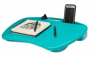 laptop lap desk computer table bed tray notebook cooling pad 15 portable stand ebay. Black Bedroom Furniture Sets. Home Design Ideas