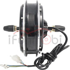 36V/48V 750W Brushless Gearless DC Front Wheel Hub Motor For Electric Bike