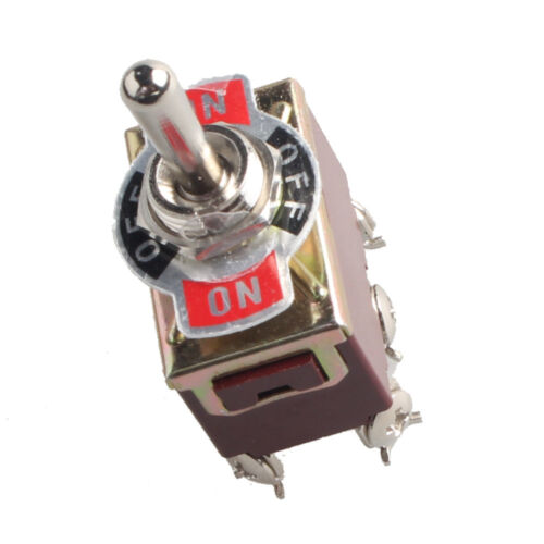5 X Heavy Duty 20A 125V DPDT 6Pin On//Off//On Rocker Toggle Switch Momentary Car