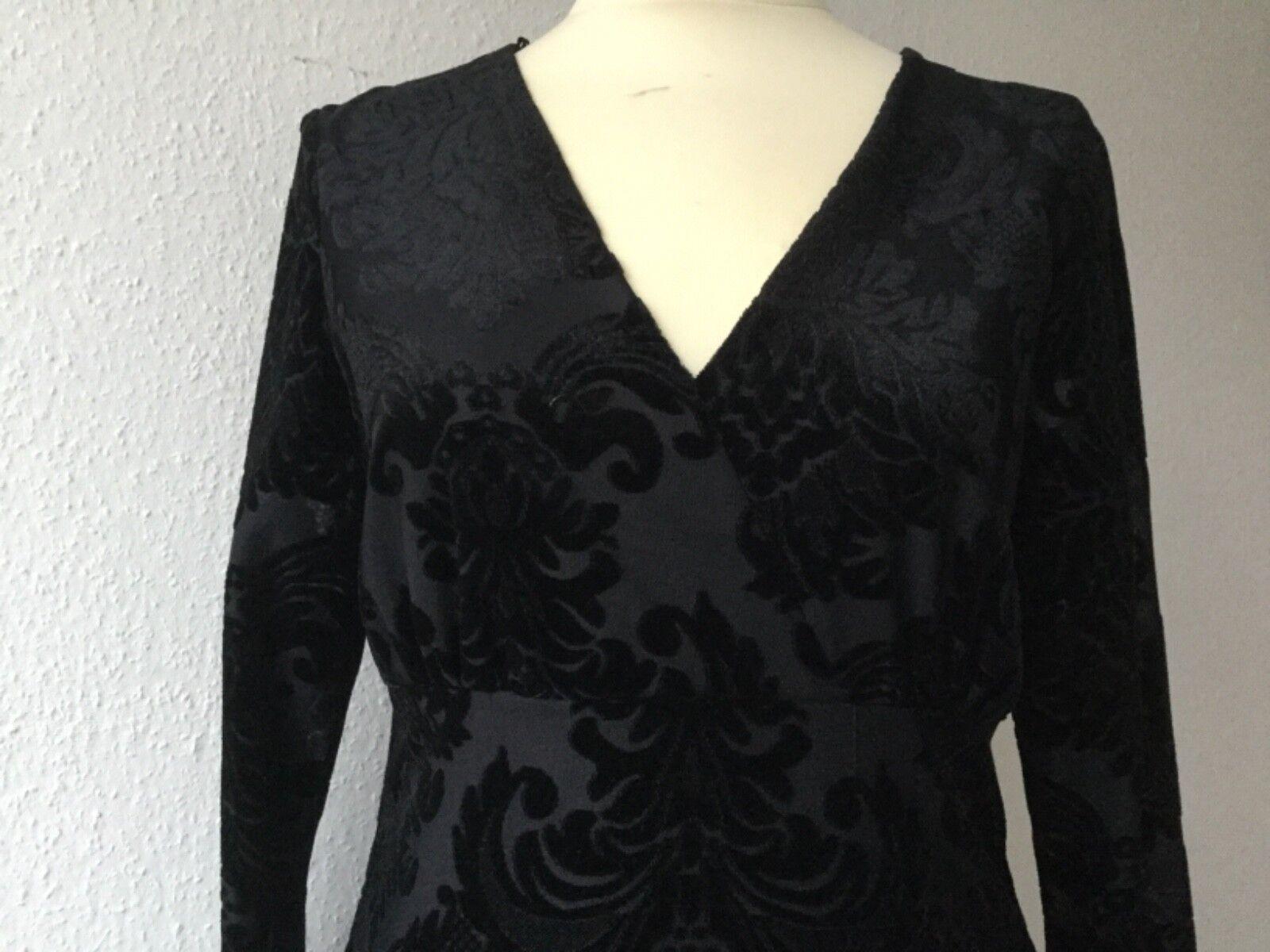 Ana alcazar Kleid Samtkleid Gr. 42  schwarz NEU Damen