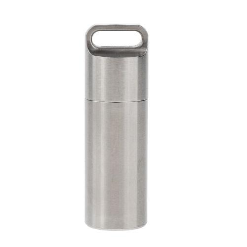 Wasserdichte Pillenetui Box Outdoor Storage Flaschenbehälter Survival Tool