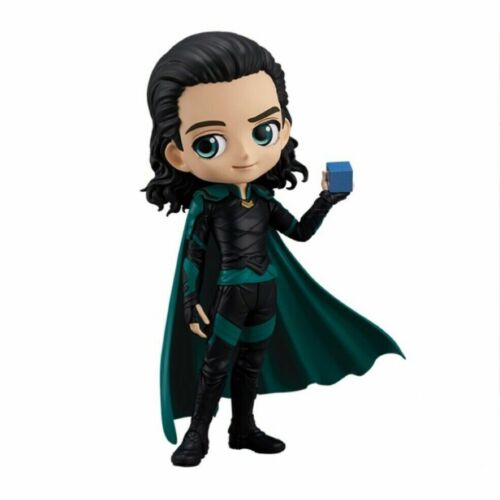 BANPRESTO Q posket MARVEL Normal Color Loki Avengers Figure JAPAN