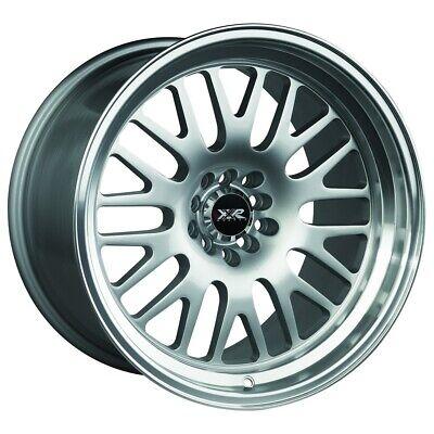 XXR 531 18x8.5 5x100,5x114.3 35et Chromium Black Machined Lip Wheels Rims