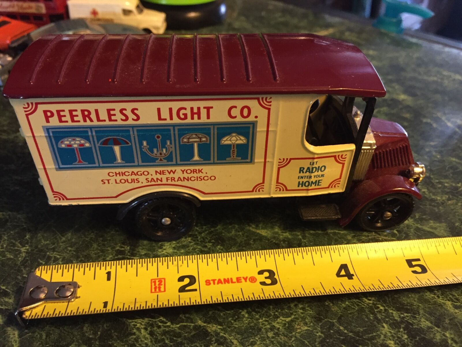 Vintage Corgi Toys Peerless Light Co.  Truck  No Box