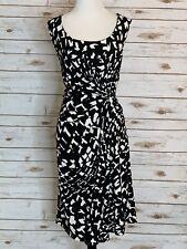 Kenneth Cole Womens Black Sleeveless Midi Dress Size 1x
