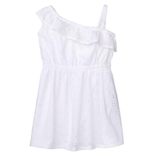 NWT Gymboree Dressed Up Eyelet Ruffle White Dress Toddler Girls Easter Wedding