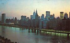 AK/Postcard: NEW YORK CITY - View from Queensboro Bridge (1975)