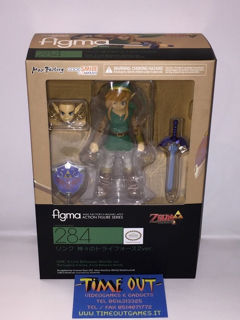 FIGMA 284 A LINK BETWEEN WORLDS NEW GOODSMILE MAX FACTORY