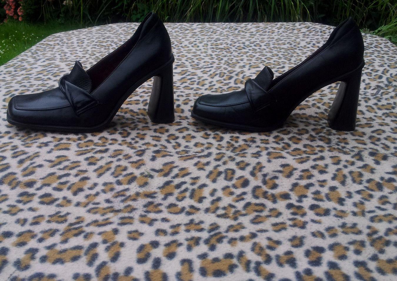 Vintage CREAZIONI ROMANINI BLACK Schuhe 38, SIZE 38, Schuhe UK 5 e5779a