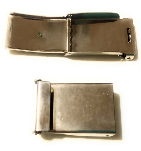 Set of 2 Web Belt Buckle Eagle Design