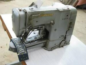 INDUSTRIAL DURKOPP BAR TACKING SEWING MACHINE. GERMAN MADE