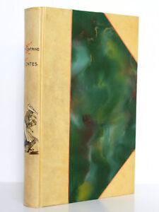 Contes-de-La-Fontaine-Edition-ill-STAAL-Garnier-Freres-1931-BELLE-RELIURE