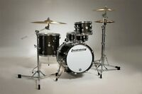 Ludwig Drums Sets Breakbeats Questlove Kit Black Gold 4pc Lc179x With Bags