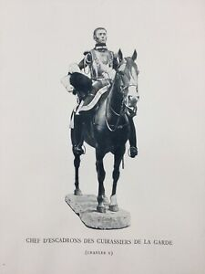 Chef-D-Squadron-Cuirassiers-Notebook-Of-La-Sabretache-1900-Uniforms-Military