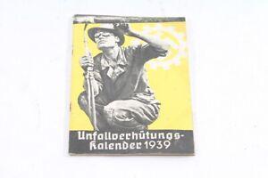 Age-Print-Unfallverhutungskalender-1939-Old-Vintage-Collector