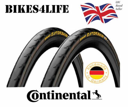 2 x Continental GatorSkin DuraSkin Wired Bike Tyre 700 x 23c