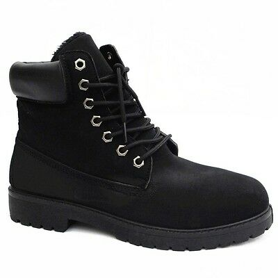 Winter Schuhe Herren Damen warme Stiefel Stiefeletten Boots Outdoor Größe 36-45