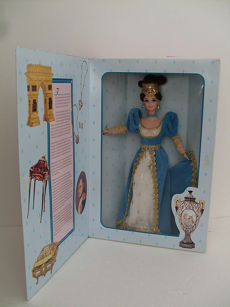 Barbie french lady doll the great eras collection 1996 volume 9 collector 16707