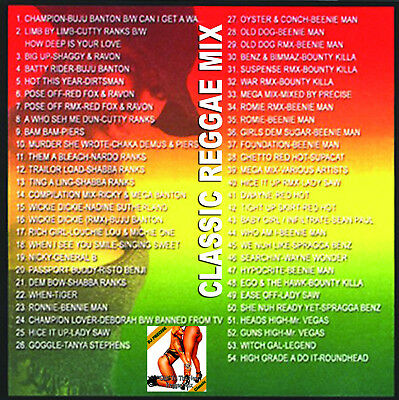 Best Of OLD TO THE NEW REGGAE MIX Old School Mix Edition Mixtape CD | eBay