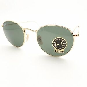 274f8300003222 Ray Ban RB 3447 001 Gold G15 Green New Sunglasses AUTHENTIC   eBay