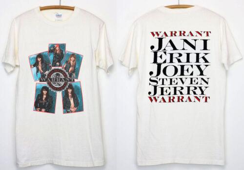 rare vtg 1989 WARRANT tour 80s metal  new reprint best gildan promo 2019////