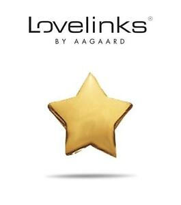 Genuine-LOVELINKS-gold-plated-925-sterling-silver-Superstar-charm-bead-RRP-30