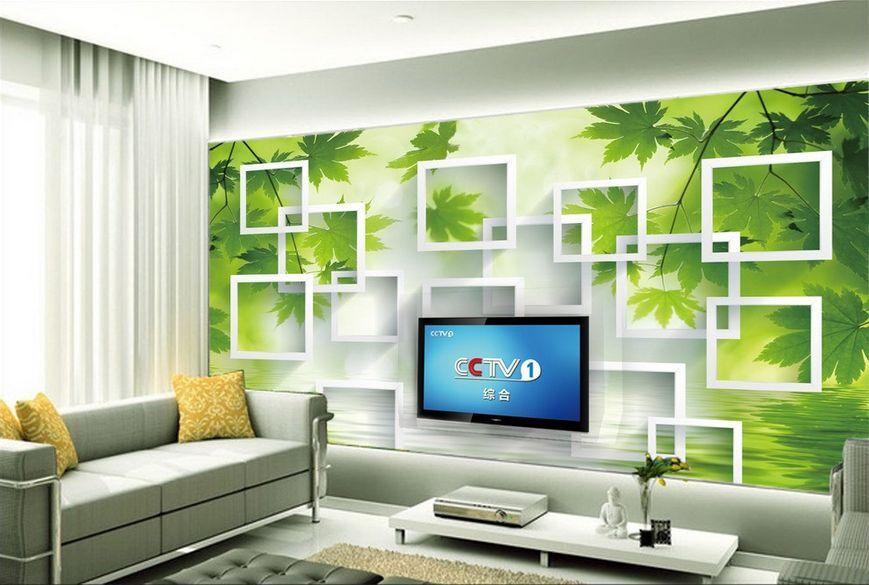3D albero modello Parete Murale Foto Carta da parati immagine sfondo muro stampa