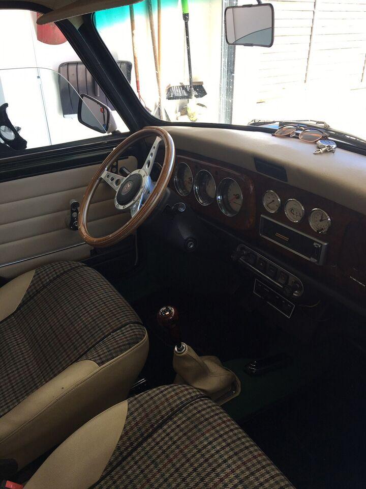 Morris Mascot, Mini 1275, Benzin