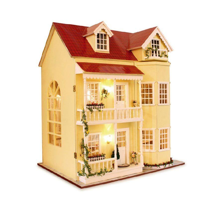 NEW mano miniatura fatto a mano-progetto Set legno Casa delle Bambole My piccola villa kidsg veleno