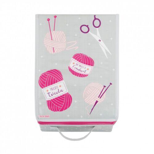 Wäschebox Faltbox Aufbewahrungsbox Faltkiste Regalbox mit Deckel für Strickgarn