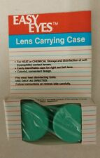 Contact Lens Carrying Case! Easy Eyes! Unique old style Heavy-duty mini case!