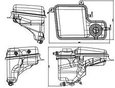 Behr Hella Service 376789711 Engine Coolant Reservoir BMW